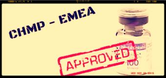 Emea, dal Chmp parere favorevole per l'approvazione di 19 nuovi farmaci