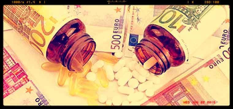 I dati Federfarma sulla spesa farmaci 2017: ancora in calo (- 1,9%) la convenzionata