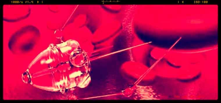 Nanorobot nel flusso sanguigno, i farmaci si somministreranno così