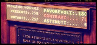 Sì dell'Aula del Senato  il biotestamento è legge