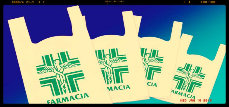 Sacchetti di plastica in farmacia, circolare Fofi torna sulle nuove regole