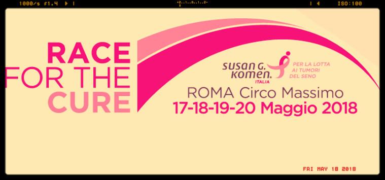 Race for the cure 2018, inaugurato a Roma  Villaggio della Salute, c'è anche Federfarma
