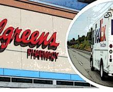 Walgreens-FedEx, accordo USA per la consegna di farmaci a domicilio in 24 h