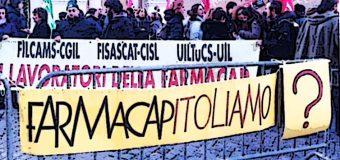 Farmacap, domani a Roma presidio sindacale e assemblea dei dipendenti