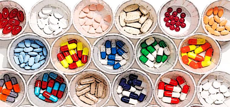 Farmaci-equivalenti poster ciotole