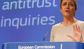 "Vestager (Ue):""Italia, su concorrenzamisure importanti"""