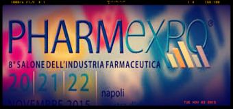Napoli, dal 20 al 22 novembre ottava edizione di Pharmexpo