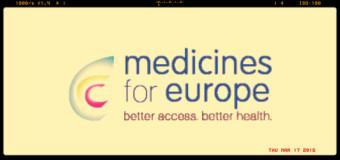 Generici, l'associazione europea cambia nome e diventa Medicines for Europe