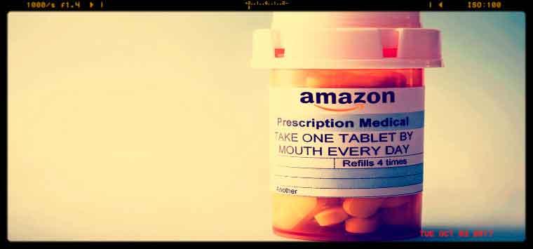 Farmaci, registrata l'url AmazonRx.com,  prossimo lo sbarco di Bezos nel settore