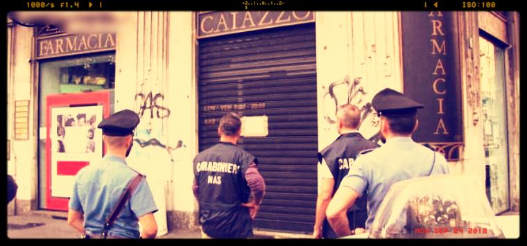 Milano, i Nas dispongono il sequestro preventivo della farmacia Caiazzo