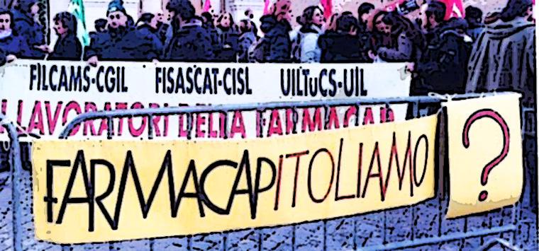 Farmacap, il 26 luglio confronto sindacati-capigruppo in Campidoglio