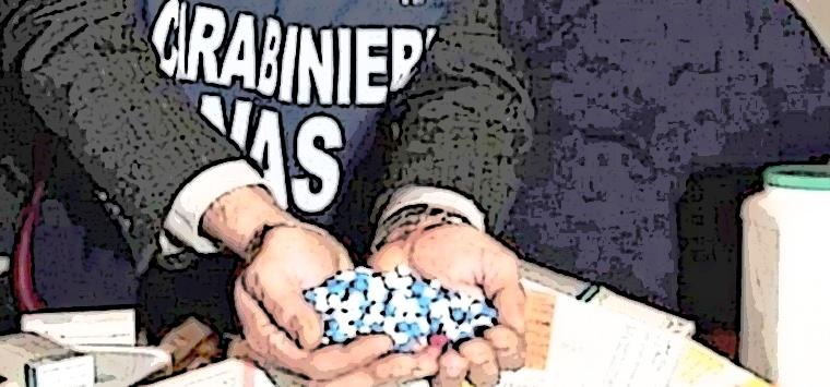 Nas Parma, vendevano antifiammatorio no autorizzato, denunciate sei persone