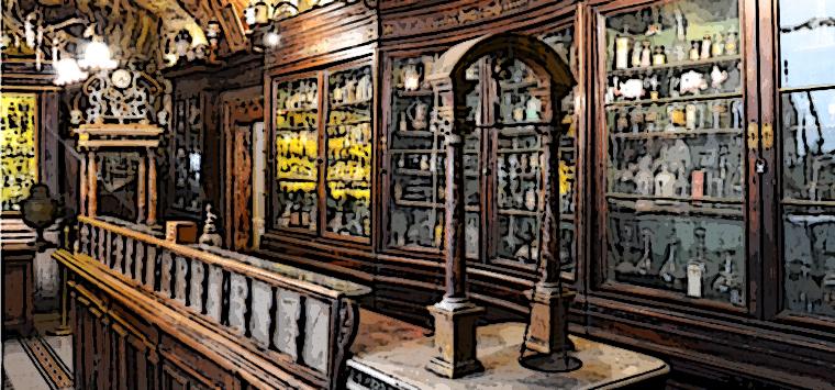 Una buona notizia: le antiche farmacie (come S. Maria della Scala a Roma) fanno ancora notizia