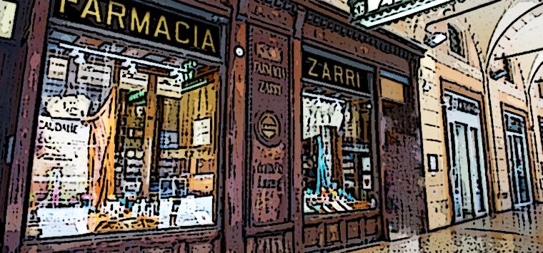 Bologna, a rischio chiusura la storica Farmacia Zarri e altri due esercizi