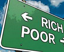 Eurostat, in Italia aumenta il divario tra ricchi e poveri
