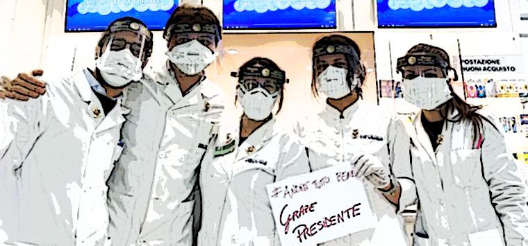 Napoli, dall'Ordine visiere protettive a tutti i farmacisti di farmacie, parafarmacie e Ssn