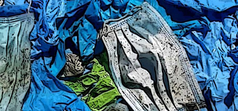 Si profila un allarme-rifiuti: come smaltire milioni e milioni di mascherine e guanti?