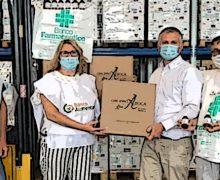 Banco Farmaceutico, 500 confezioni di gel disinfettanti in regalo a due enti di volontariato solidale