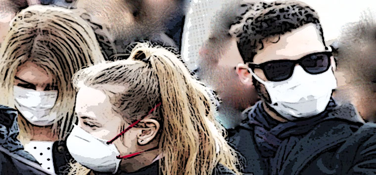 Studio USA, essenziale ma insufficiente uso mascherine, vanno limitati i contatti
