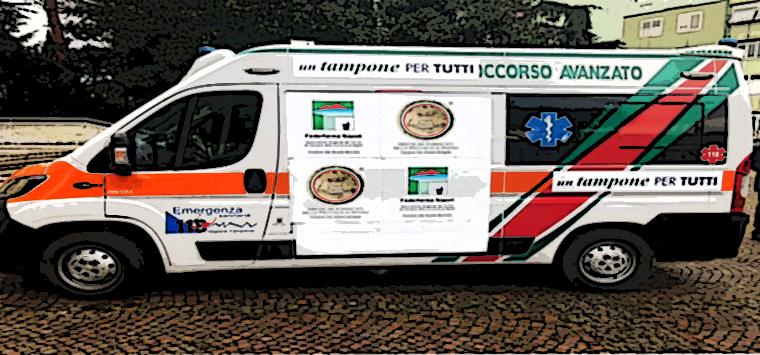 Napoli, riparte il tour <i>Un tampone per tutti</i>, test Covid gratis nel camper dell'Ordine
