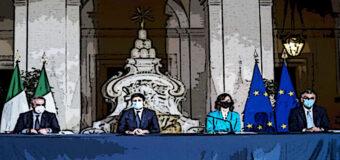 Lotta a Covid, il primo dpcm del governo Draghi illustrato da Speranza e Gelmini