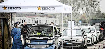 Vaccino Covid, a Milano si fa in auto in 5 minuti al drive through dell'Esercito