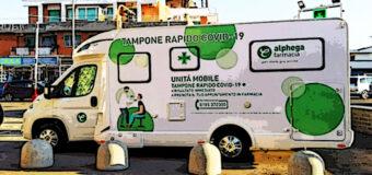 Prato, unità mobile nelle farmacie Alphega per effettuare test rapidi Covid