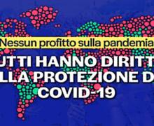 """Moratoria brevetti vaccini, grande successo per il """"click day"""" nelle piazze italiane"""