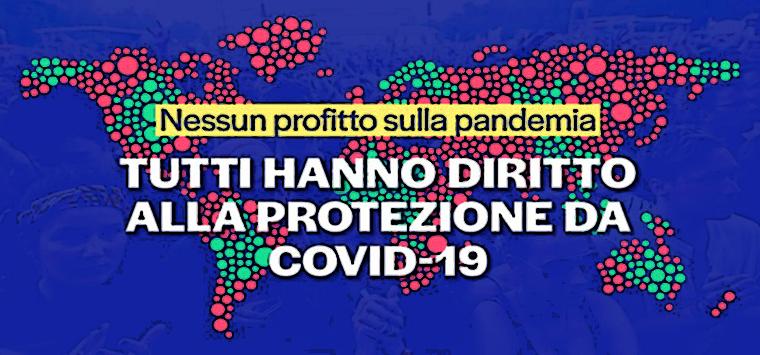 Vaccini Covid, il 29 maggio mobilitazione nelle piazze italiane per la moratoria sui brevetti
